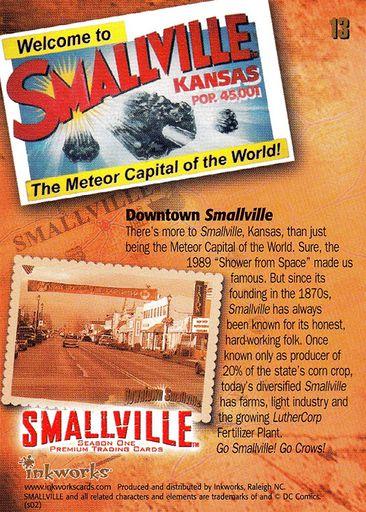 The Heart Of Jor-El #13 Smallville Season 3 Inkworks Trading Card