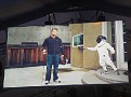 Mark Zuckerberg (Facebook) and Sheryl Sandberg's son fencing