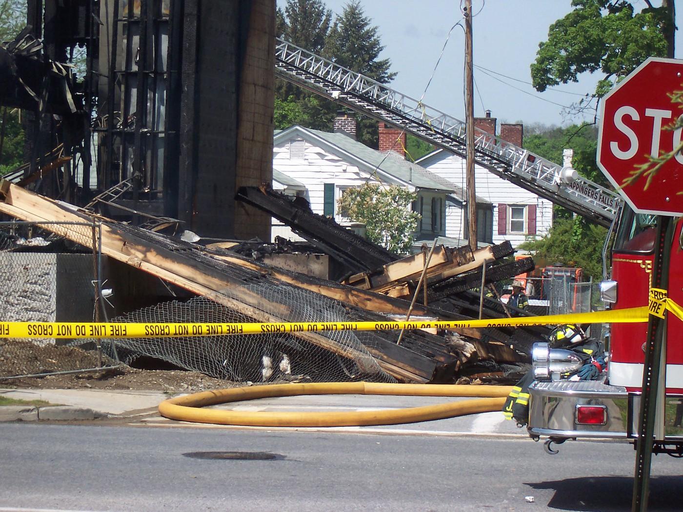 Church Fire, 5/11/08