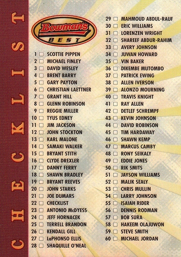 1997-98 Bowman's Best Refractor #022 (1)