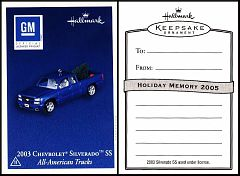 2005 Hallmark All-American Trucks #11