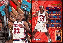1995-96 Hoops SlamLand Jumbo Grant Hill