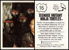 Teenage Mutant Ninja Turtles Movie Sticker #016