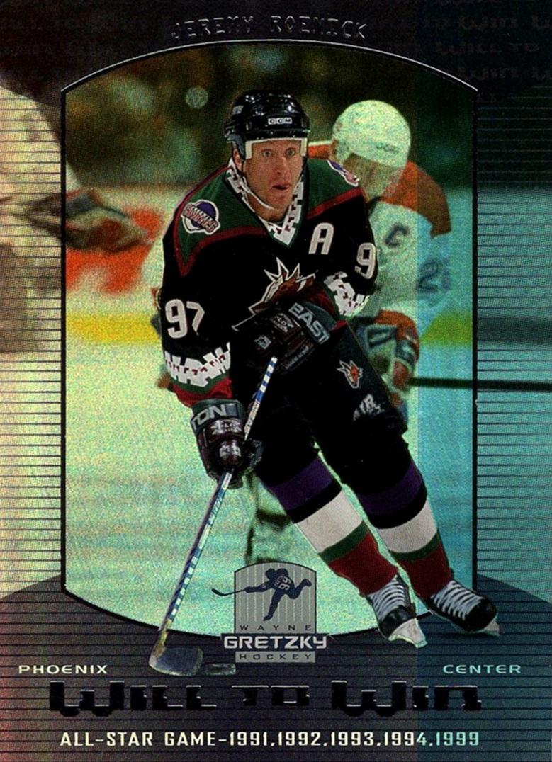 1999-00 Wayne Gretzky Hockey Will to Win #W06 (1)