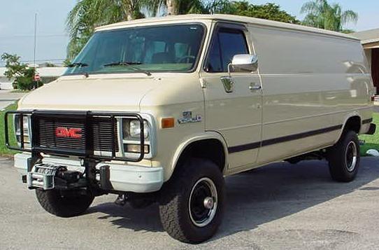 1994 GMC 4X4 Van