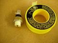 Use yellow teflon tape