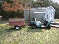 My Golf Cart and Little Trailer for yard jobs '-)))