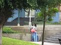 Couple # 1 '-))) in Lima, Peru.