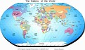Nations of the World Political Map.