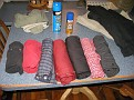 This time I am trying the roll up method of packing, suggested by Erin!!!  Thanks Erin,,,  so far so good!!!