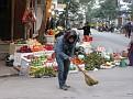 Walking Along the Streets of Hanoi, Vietnam.