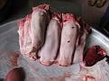 Ben Thanh Market Meals... pig tounges...