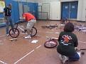 2 teams - 1 bike- Gracious Professionalism
