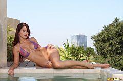 Evelin Rain Sheer Bikini