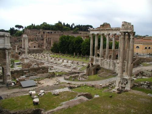 Если получится, обязательно поезжайте в Рим, я бы даже зимой поехала