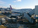 London Heathrow, Virgin Atlantic var vårt flygbolag som tog oss från London till Los Angeles.