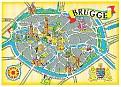 WEST- VLAANDEREN - Brugge 00- Map
