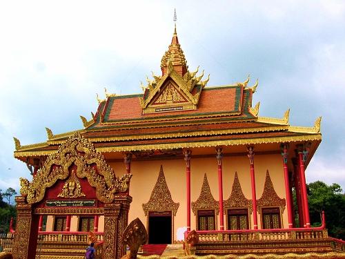 Cambodian Buddhist Temple Complex
