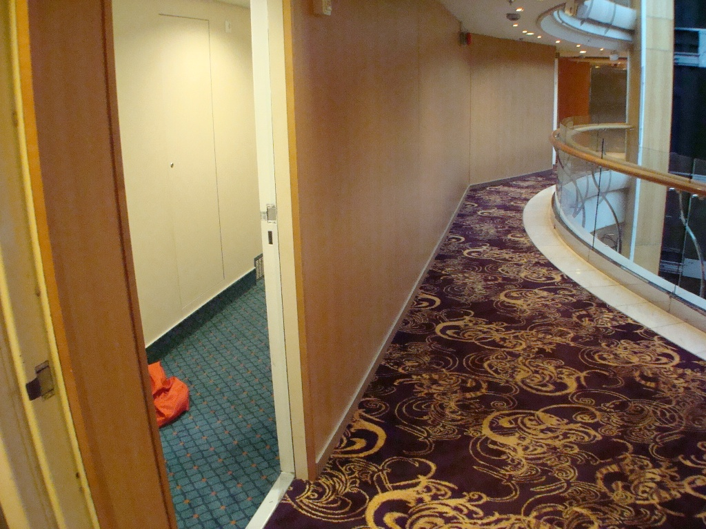 Hallway for New Panoramic Ocean View Cabins