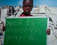 Message from Haitian children