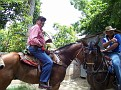 Dominicans Cowboys on the move.