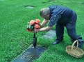 2010 11 10 1 Dad visiting mum's grave