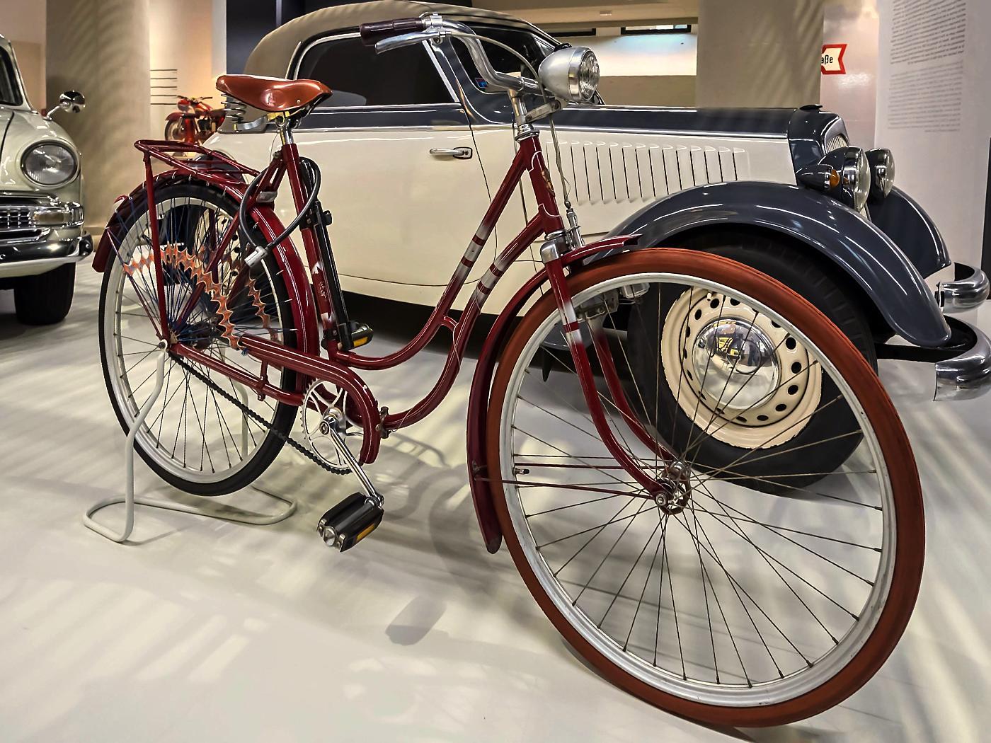 Damentourenrad Möve Modell 15 von 1956