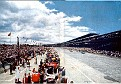 Panorama Ambiance in the pit lane at '55 Indy 500