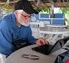 John Muzzio, 74, a limber soul