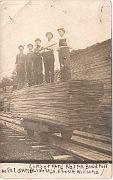 Lumber Yard at the Norma Band Mill