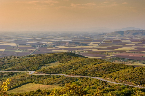 The valley of Thessaly