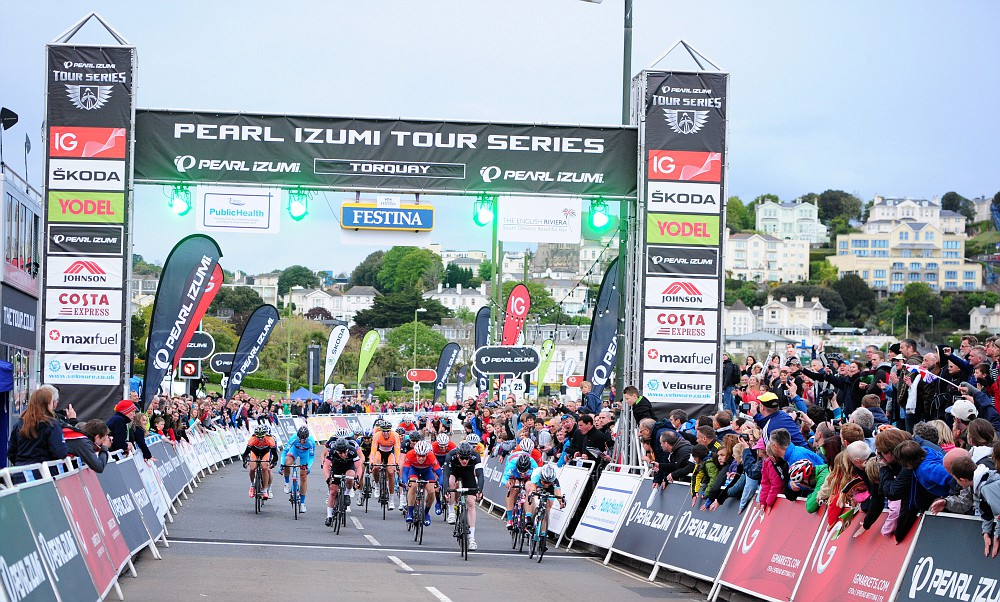 Ed Clancy wins in Torquay Tour Series