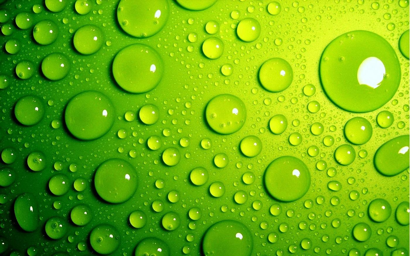 ktopwallpapergreenwaterbubbles vi