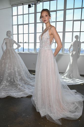 Nicole by Pronovias Spring 2020 bridal presentation at New York Fashion Week: Bridal