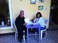 Monday January 30, 2012.  My first day at Zamora Spanish Language School.  I feel like a little kid ;-)  here is my teacher, Sara ;-)