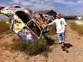 Along Route 66. Volkswagen Art / Conway, Texas.