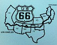 Route 66 travels through 8 States.  We'll add Utah & Nevada for the Grand Canyon, Hoover Dam and other National Parks & Excursions. Cheers 😃👍🇺🇸☑🐝