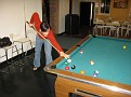 Shooting a couple of games of Pool at 1 AM...