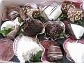 "A ""Grand-Mothers"" Day Gift from Gary Jr.  Chocolate Covered Strawberries...  Had one with coffee,,,  wow,,, excellent!!!  Good Job, Gary Jr.!!!"