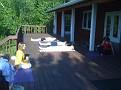 Sivananda Ashram Yoga Ranch... Yoga the next morning was here...