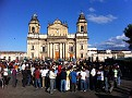 The Cathedral and Central Square in Guatemala City, Guatemala...
