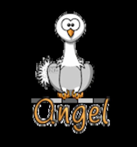 Angel - OstrichWithBlinkie