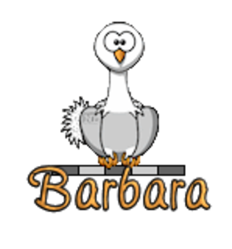 Barbara - OstrichWithBlinkie