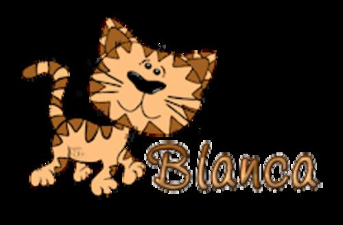 Blanca - CuteCatWalking