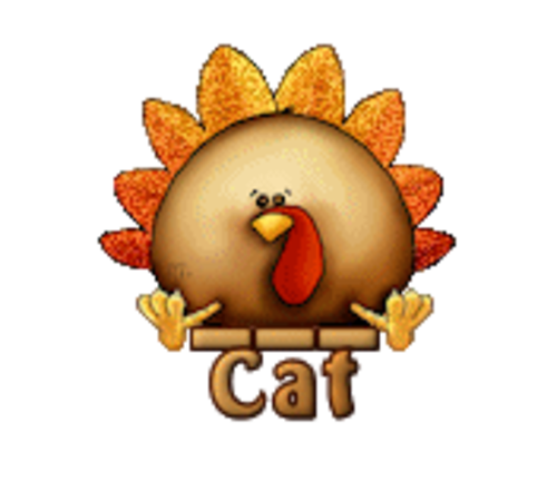 Cat - ThanksgivingCuteTurkey