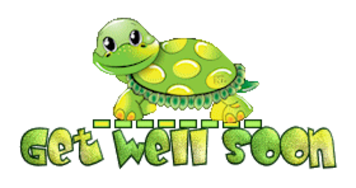 Get Well Soon - CuteTurtle