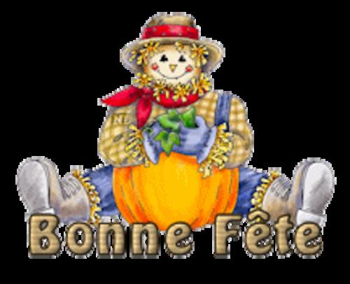 Bonne Fete - AutumnScarecrowSitting