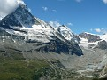"""Right"" side of Matterhorn from LONG hike - Zermatt"