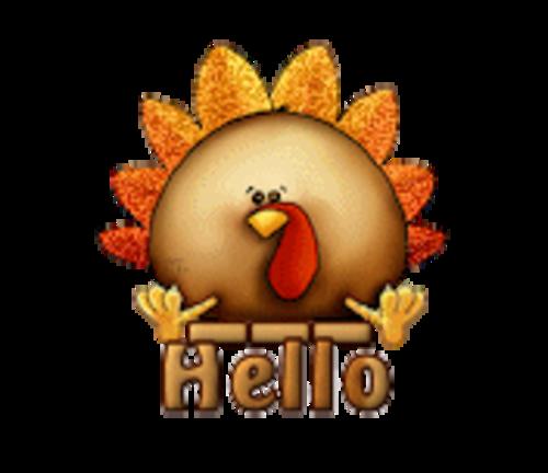 Hello - ThanksgivingCuteTurkey