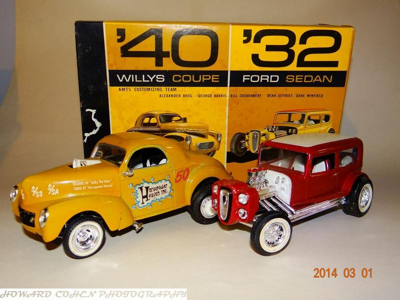 Photo: Willys 1940 Ford 1932 double kit 1964 001 | Model Car